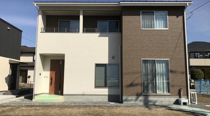 東花輪モデルハウス 完成写真