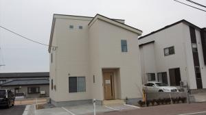 新潟市西区 立仏モデルハウス1号棟