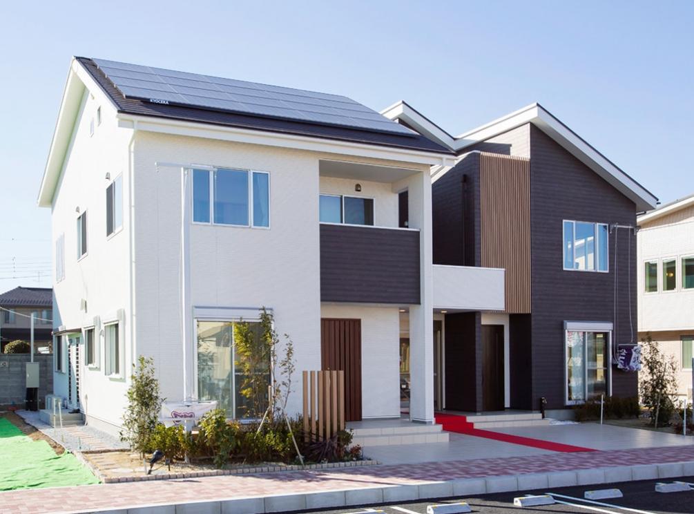 新築一戸建て低価格住宅のパパまるハウス太田営業所(展示場)
