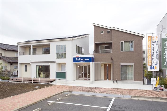 新築一戸建て低価格住宅のパパまるハウス水戸支店(展示場)