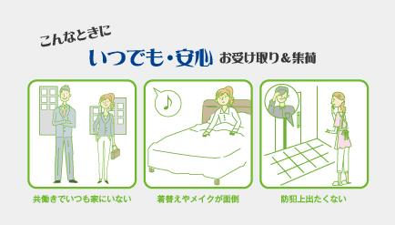 ヒノキヤオリジナルの「留守番ポスト」