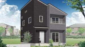 白河 大鹿島前モデルハウス 1号棟(平成30年1月27日OPEN予定)