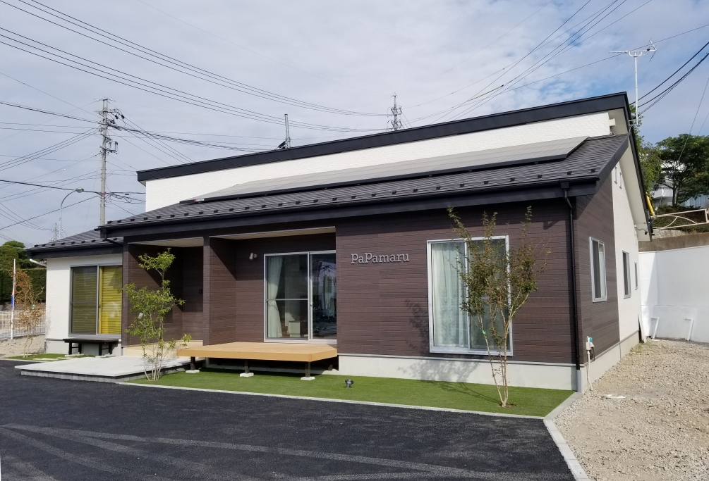 新築一戸建て低価格住宅のパパまるハウス東御営業所(展示場)